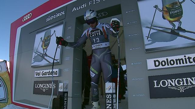 Un intratable Svindal gana por quinta vez el supergigante de Val Gardena