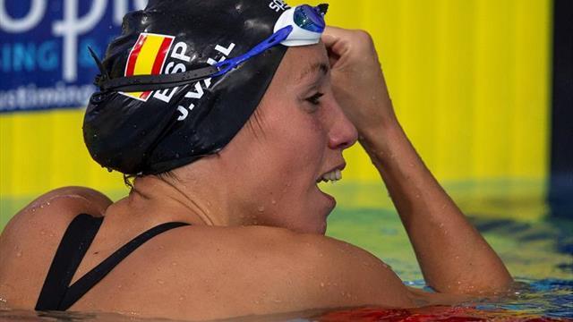 Jessica Vall eliminada en las semifinales de los 100 braza