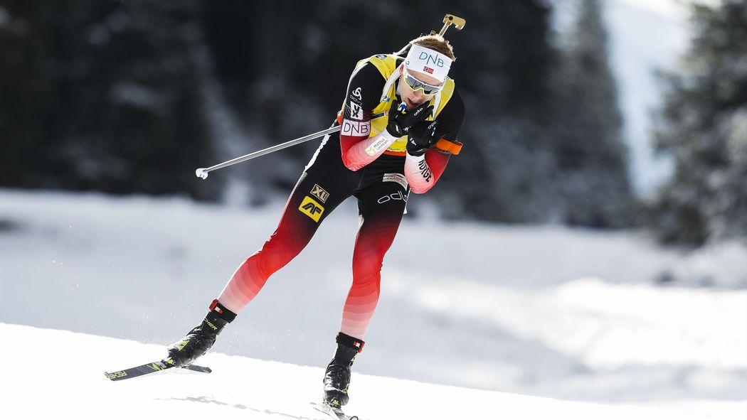Biathlon Sprint In Antholz Johannes Thingens Bö Siegt Erneut