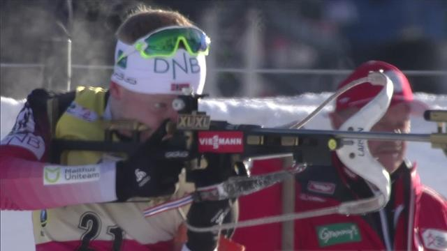 Йоханнес снова не попал последним выстрелом, но размазал Фуркада на трассе и взял золото