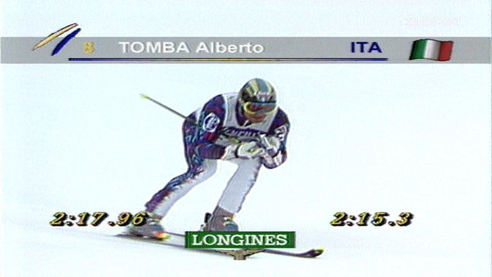Video - Alberto Tomba trionfa nel gigante di Val Badia  rivivi la sua  mitica gara fe7a48a4d1b