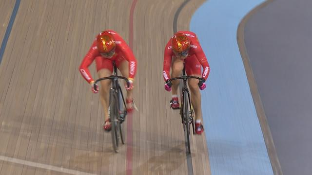 China power to gold in women's team sprint