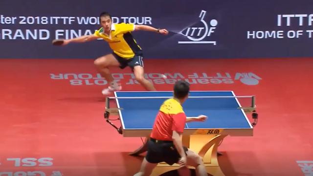 Match point: Calderano beats Fan in World Tour Grand Finals