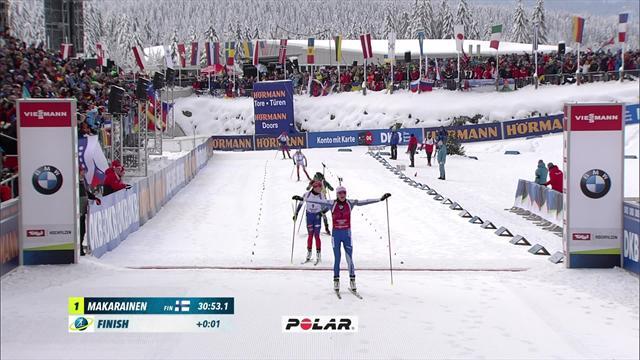 Победный финиш Макарайнен, которая не позволила Фиалковой и Вирер даже задуматься о золоте