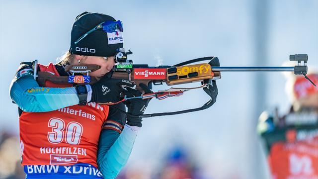 Biathlon : Martin Fourcarde remporte la masstart d'Oberhof, Quentin Fillon Maillet 16e