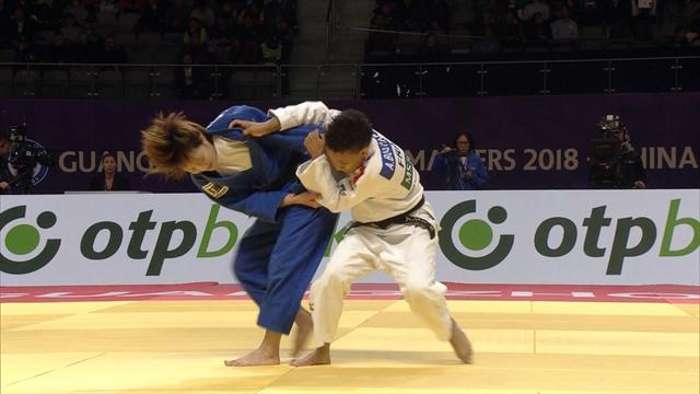 Tsunoda wins -52kg final