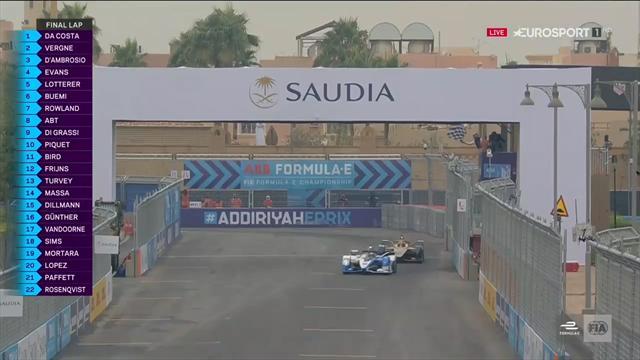 Formula E: Antonio Felix da Costa se impune în prima cursă a sezonului