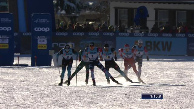 Реактивный финал мужского спринта выиграл Клэбо
