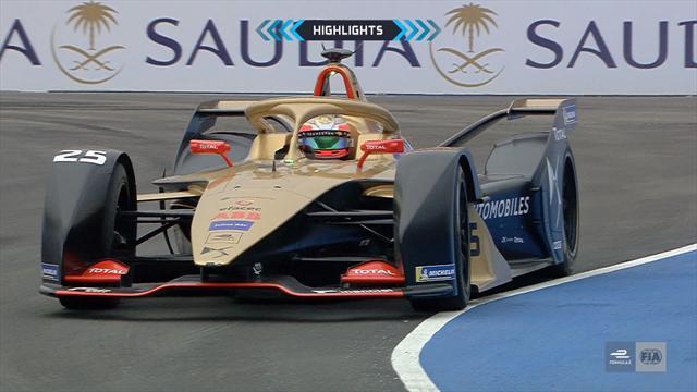 Fórmula E, ePrix de Riad: Los mejores momentos del arranque de temporada y la victoria de Da Costa