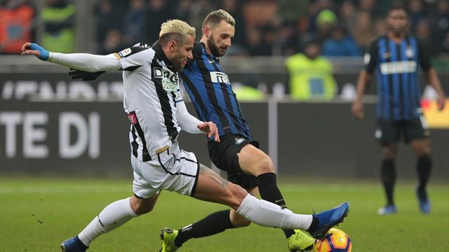 Udinese-Inter: probabili formazioni e statistiche