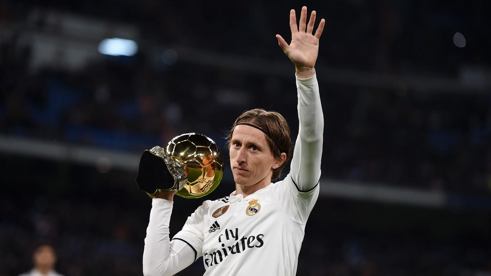 Лука Модрич с Золотым мячом
