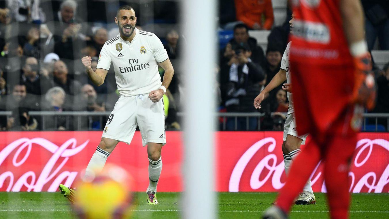 Karim Benzema offre la victoire au Real Madrid contre le Rayo Vallecano (1-0)
