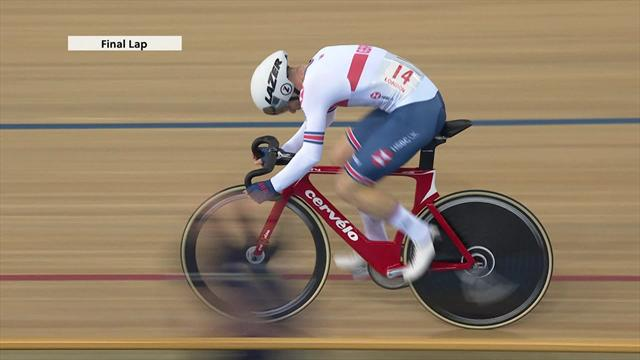 Los españoles Torres y Mora ganan el bronce en la Madison de Londres