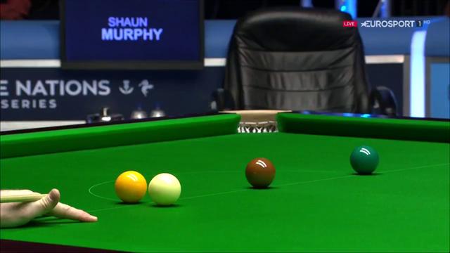 Was für ein Stoß von Murphy