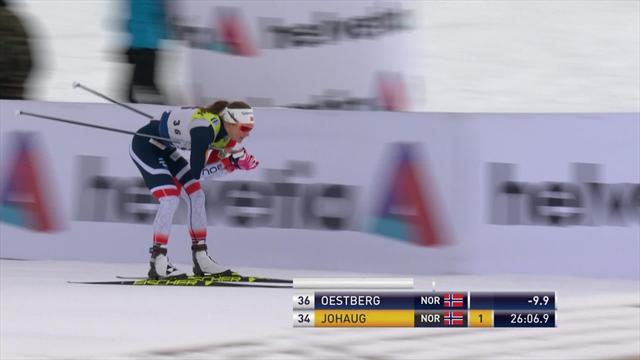 Победный финиш неповторимой Нильссон, растопившей снег в Давосе второй год подряд
