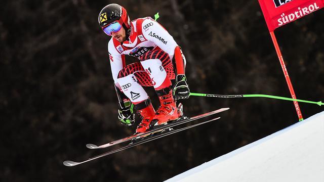 Dominant Hirscher seals giant slalom win at Altia Badia