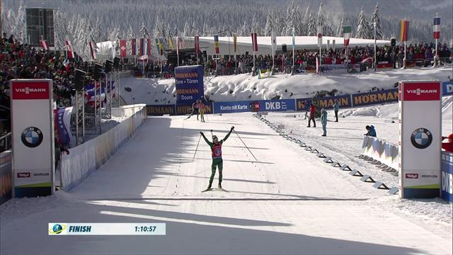 Italy claim victory in 4x6km race in Hochfilzen