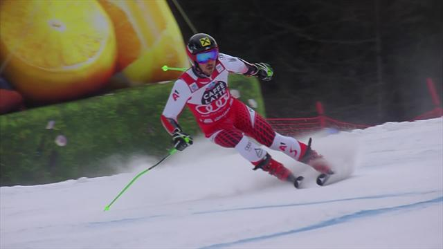 'In the form of his life!' - Hirscher wins Alta Badia giant slalom by huge margin