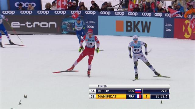 Sekunden entscheiden in Davos: Below sprintet zum Sieg