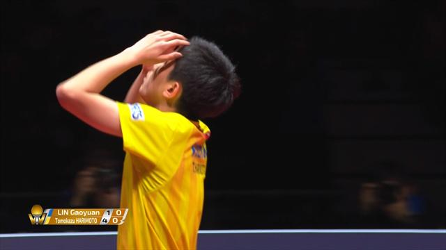 15-year-old Harimoto beats Lin in World Tour Finals