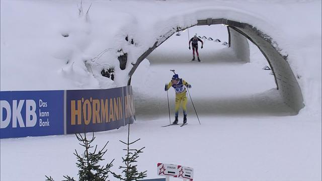 Sweden claim relay title in Hochfilzen