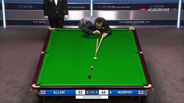 Allen error sees Murphy level final