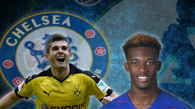 Transfer Focus - Imminent Pulisic Arrival Could Push Hudson-Odoi to Follow in Sancho's Footsteps