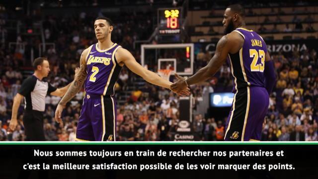 """NBA - James : """"Ball et moi sommes les mêmes"""""""