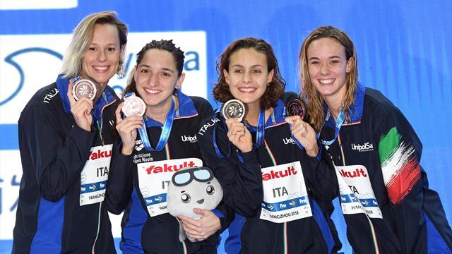 Pellegrini, Scozzoli, Panziera: ecco l'Aqua Centurions, la squadra italiana per l'ISL