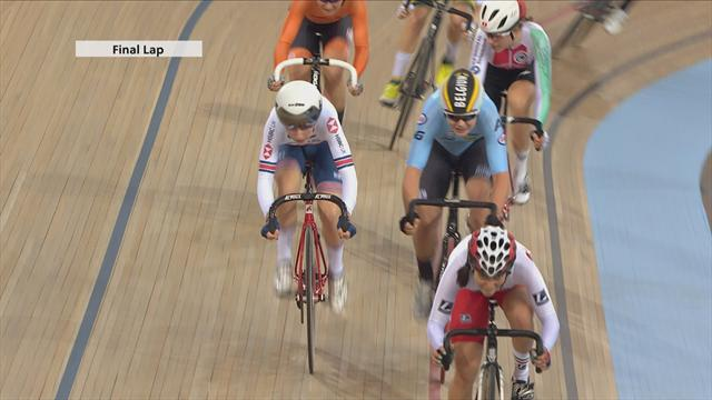 Britain's classy Kenny and Archibald win Madison title at London Track World Cup