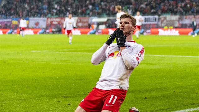 5 Transfergerüchte des Tages: Werner als Suárez-Nachfolger nach Barcelona?