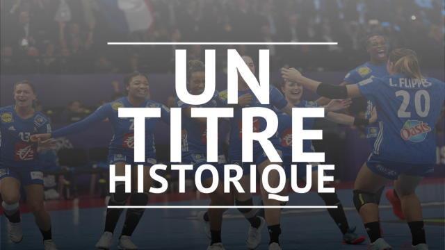 Championnats d'Europe - Un titre historique
