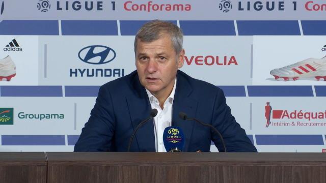 """18e j. - Genesio : """"Le match qu'on a le plus maîtrisé en Ligue 1"""""""