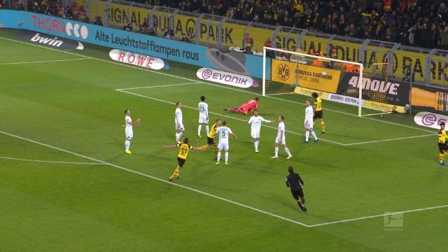 Bundesliga: 15e j. - Le but de Reus qui fait le break pour Dortmund