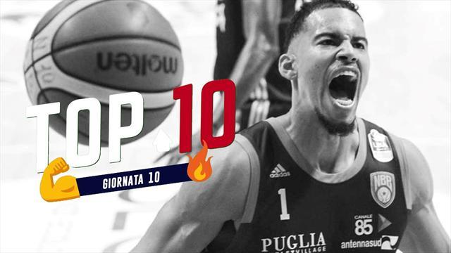 Top 10: le migliori giocate della 10a giornata di Serie A