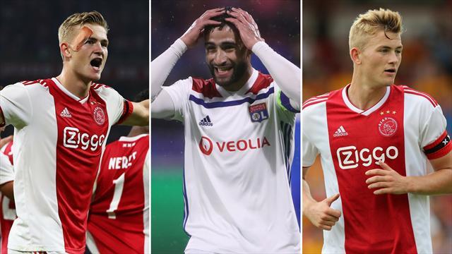 Ajax, un equipo emergente que puede desmontar el Barça y Lyon, la cantera de cracks franceses