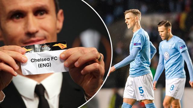 Tuffast tänkbara lott för Malmö - ställs mot Chelsea i sextondelsfinal