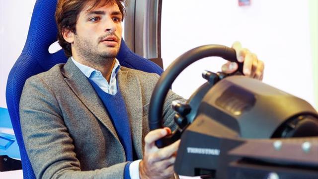 """Carlos Sainz """"pone freno"""" a la velocidad para apostar por la seguridad vial"""