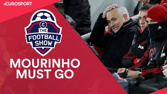 Mourinho must go after Liverpool shambles