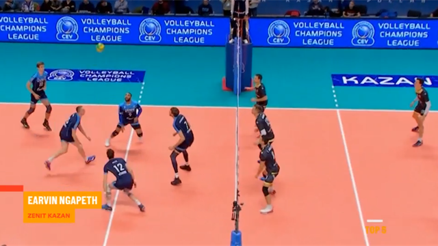 Top 5: Best moments from the CEV Champions League second round