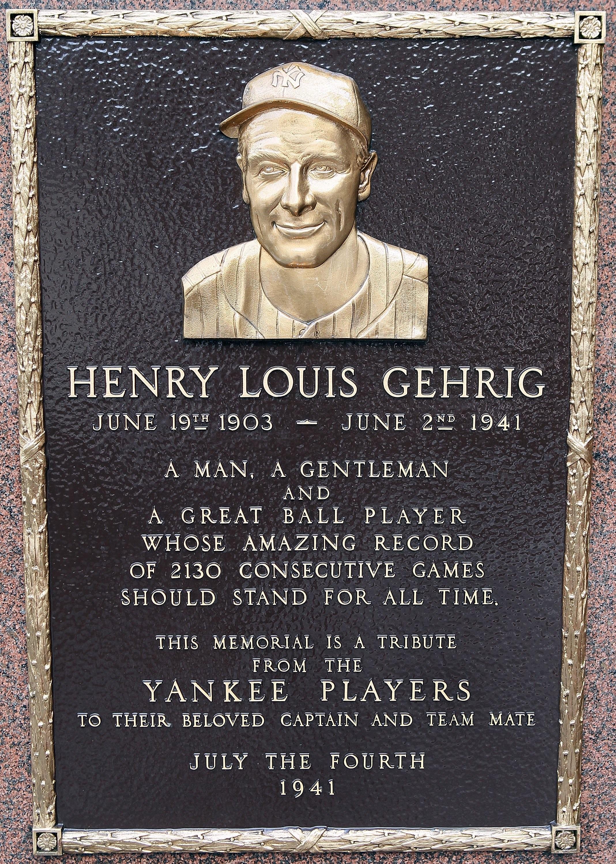 Henry Louis Gehrig