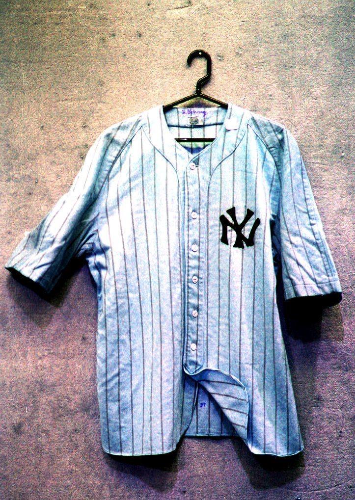 L'une des dernières tenues de Lou Gehrig