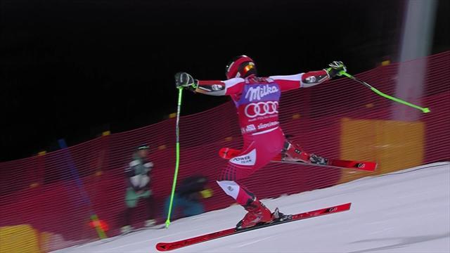 Hirscher se mantiene intratable en Alta Badia y vence el gigante paralelo