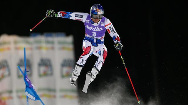 Pinturault a battu Olsson pour la troisième place : son run victorieux