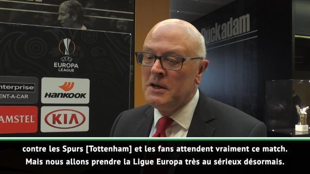 """16es - Miles : """"Prendre la Ligue Europa très au sérieux désormais"""""""