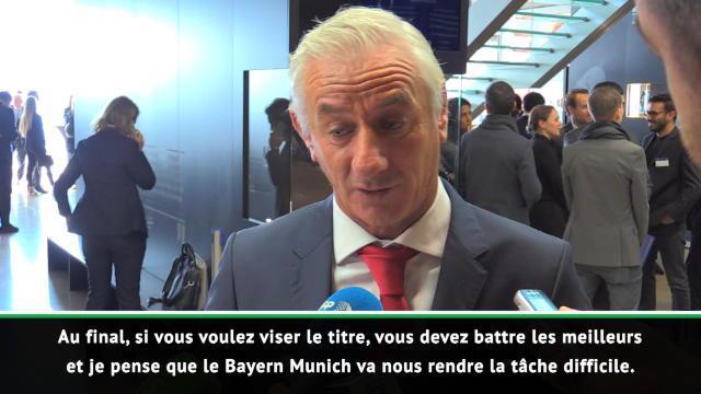 """8es - Rush : """"Le Bayern va nous rendre la tâche difficile"""""""