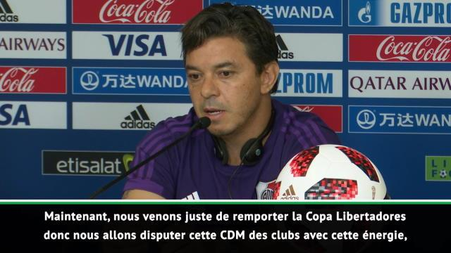 "CdM Clubs - Gallardo : ""Remporter le tournoi avec River Plate"""