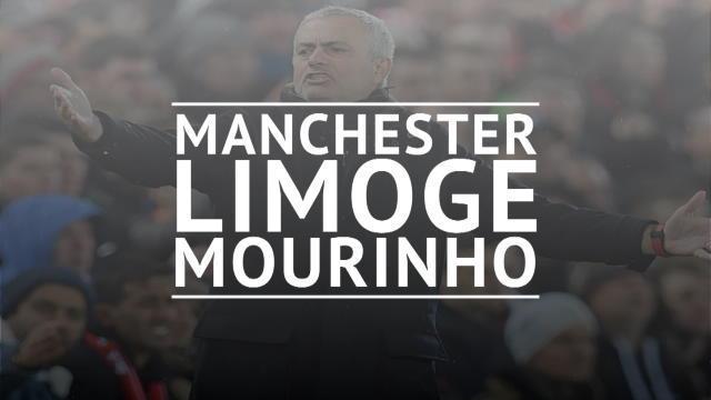 Manchester United limoge José Mourinho