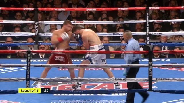 WBA super-moyens - Les meilleurs moments du combat entre Canelo et Fielding