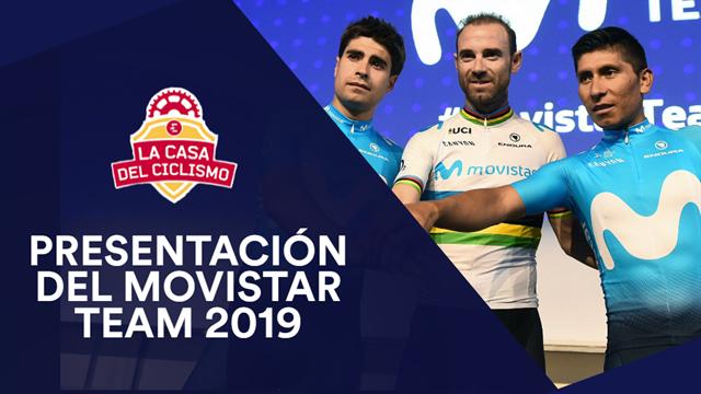 VODCAST: Movistar Team 2019, una nueva estrategia para que Valverde, Landa y Quintana brillen